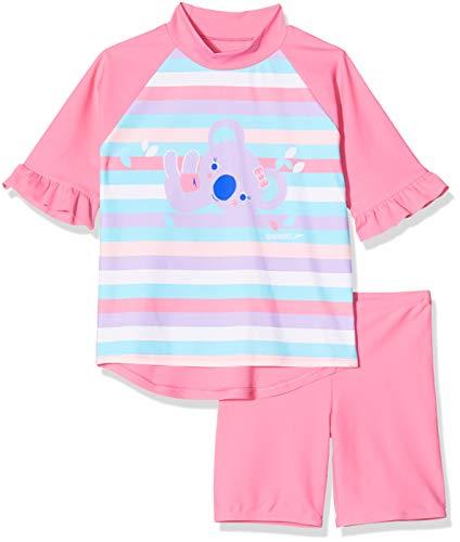 Speedo Koko El Koala Niños Conjunto De Camiseta Y Pantalón Corto De Baño, Infant Unisex, Azul, 4 Años