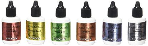 Ken Oliver KN06613 N/A Color Burst Liquid Metal Assortment-Heavy Metals