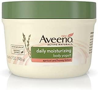 Aveeno Active Naturals Daily Moisturizing Body Yogurt Moisturizer, Apricot And Honey, 7oz