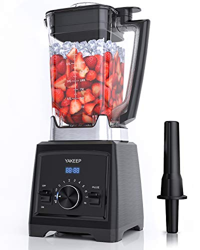 Standmixer Smoothie Maker, 2000W Ultra-Leistungsstarker Smoothie Blender, Schleifer und Eis-Zerkleinerungsmaschine, 32.000 U/min Professioneller Blender für die Küche