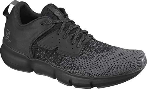 Salomon Predict Soc - Zapatillas para correr para hombre, negro (Ébano/Negro/Ébano), 41 EU