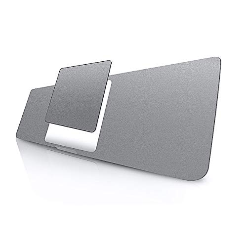LENTION Palm Rest Cover Skin mit Trackpad Schutz Folie für MacBook Pro (13 Zoll, 2016-2019, A1706/A1708/A1989/A2159,Vinyl Schutzaufkleber (Space Grau)