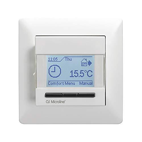 MCD4 Digitale thermostaat inbouw kamerregelaar voor elektrische vloerverwarming
