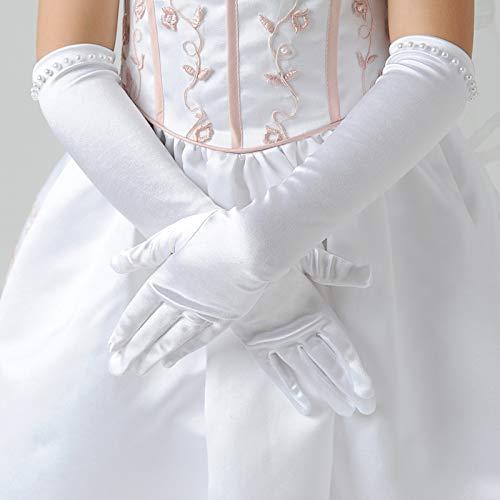 doitsa 1 par guantes de boda para niños para vestido de novia de ...