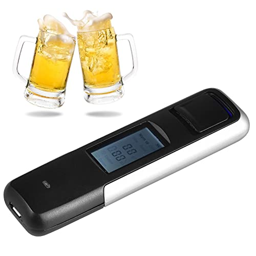 Non-Contact Digital Alcohol Tester, Personal Breathalyzer for Drive Or Home Use, High Accuracy Semiconductor Sensor Personal Breathalyzers