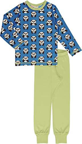 Maxomorra Kinder Schlafanzug Pyjama Panda (122/128)