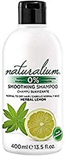 Naturalium Weichspülendes Shampoo Zitrone - Flüssigseife für normales und trockenes Haar, ohne Farbstoffe, ohne Parabene, 400 ml