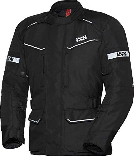 IXS Tour Evans-ST Motorrad Textiljacke Schwarz L