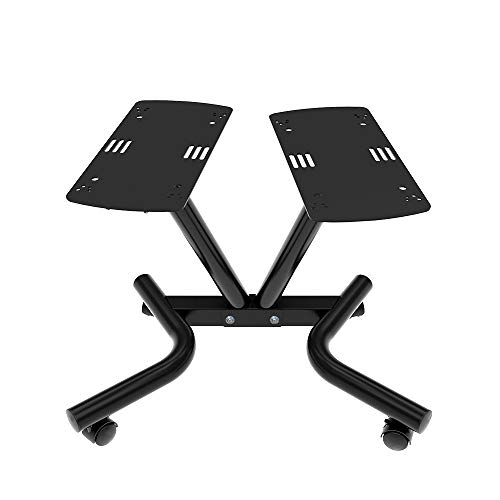ATIVAFIT Fitness Dumbbell Stand Metal 71.5 Adjustable Dumbbell Holder Weight Rack with Wheels for Home Gym