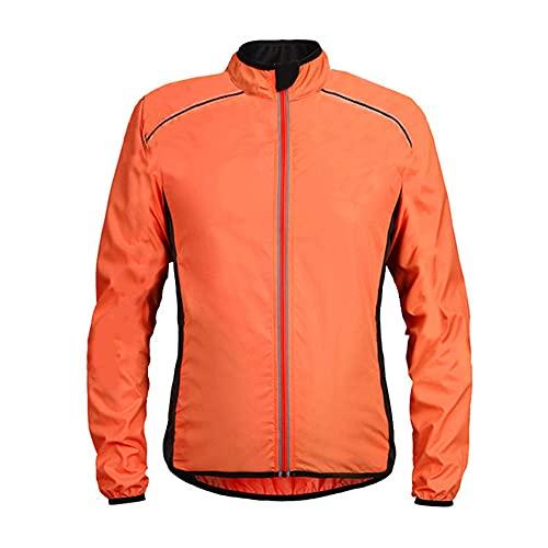 Chaquetas de ciclismo al aire libre transpirable secado rápido protector solar deportes chaqueta parabrisas
