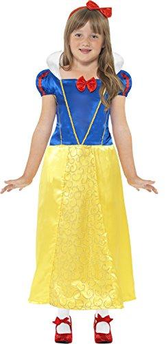 Générique Smiffys - SM41099/M - Costume Princesse des Neiges Taille M 7/9 Ans - Taille M