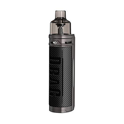 Cigarettes électroniques Kit VOOPOO DRAG X 18650 Mod Pod Kit avec une grande capacité de jus de 4,5 ml sans nicotine sans batterie(Carbon Fiber)