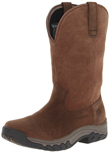 Ariat Women's womens Terrain Pull-On H2O Hiking Boot, Distressed Brown, 9 B US