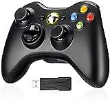Powerextra Xbox 360 Controller per Xbox 360 Slim Wireless Controller di Gioco per PC Windows di Microsoft Xbox 360 Wireless Controller 7