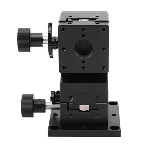 Plataforma deslizante de engranajes de plataforma de recorte manual resistente a los arañazos para equipos de fabricación de semiconductores para equipos ópticos, dispositivos de medición