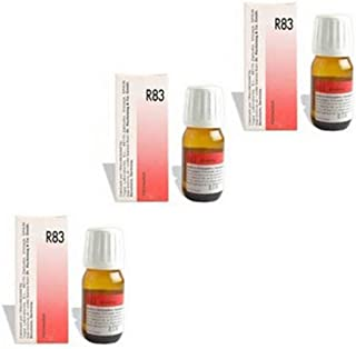 3 x Dr. Reckeweg-Germany R83- Food Allergy Drops.