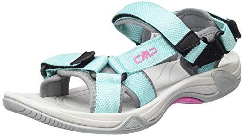 CMP – F.lli Campagnolo Hamal Wmn Hiking Sandal, Sandalias de Senderismo Mujer, Azul Giada L454, 41 EU