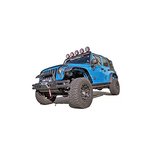 New 13 AM FM Radio Antenna Reflex High Quality Secure Sturdy Replace Fit For Jeep Wrangler JK JL 2007-2018 Rugged Ridge#296862