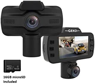 myGEKOgear: Owlscout Front & Cabin Full HD 1080P Dash Cam in One Device, Built in Wi-Fi and GPS Logging with Front Sony Exmor Sensor and Cabin Night Vision Free 16GB Memory Card - Rideshare Friendly