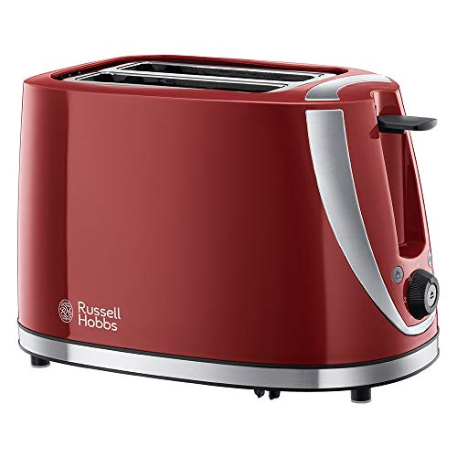 Russell Hobbs 21411 Mode 2-Slice Toaster, Red