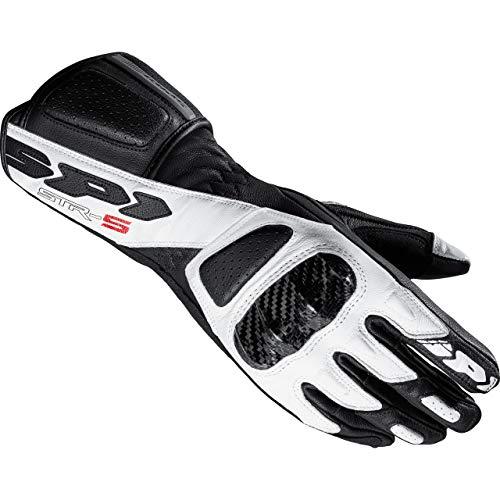 Spidi STR-5 Damen Motorrad Handschuhe Schwarz/Weiß XL