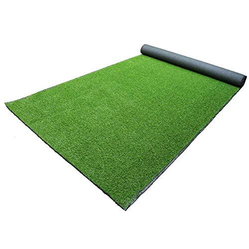 SISHUINIANHUA 50-100 cm Dicke künstliche Rasen Teppich gefälschte Turf Gras Matte landschaftspad DIY Handwerk Outdoor Garten Boden dekor,50 * 50cm