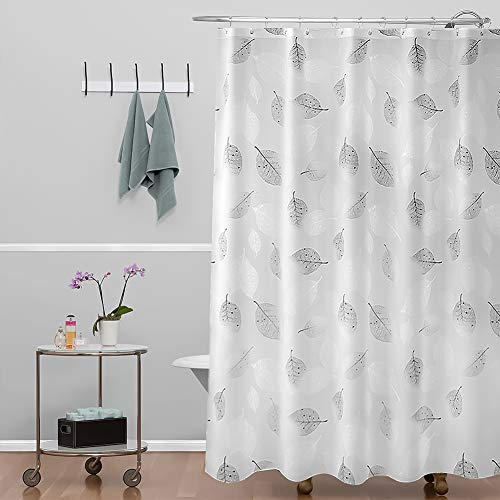 Bathroom Shower Curtain 200 x 200cm Liner 100% PEVA - 3D Effect Design Waterproof Bath Shower Curtain Liner,Eco-Friendly,Non Toxic, No Odor,Rust Proof Grommets,Great for Bathroom Tubs and Showers.