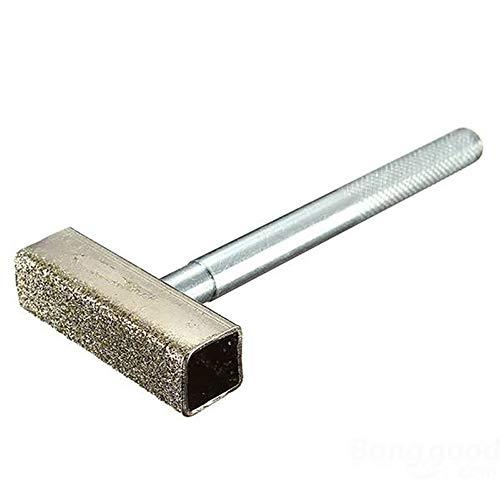 IKAAR - Aparador de ruedas de diamante para molienda y desbarbado de ruedas de banco, accesorios de molinillo de plata