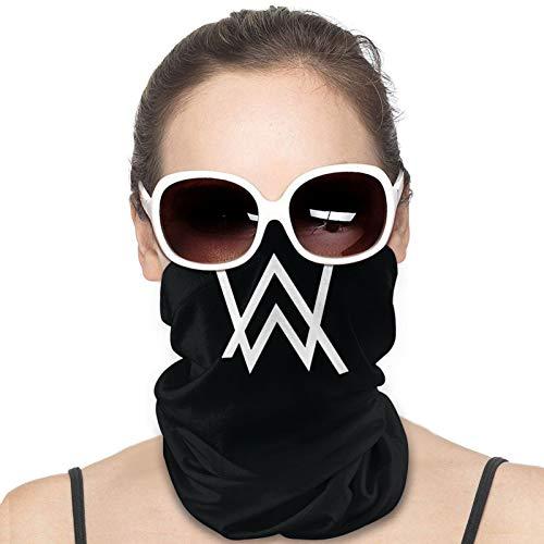 Kagicolin Alan Walker Face Coverings For Men Women Washable Bandana Face Mask And Neck Cover Elastic Outdoor Face Cover Headband Scarf Neck Gaite