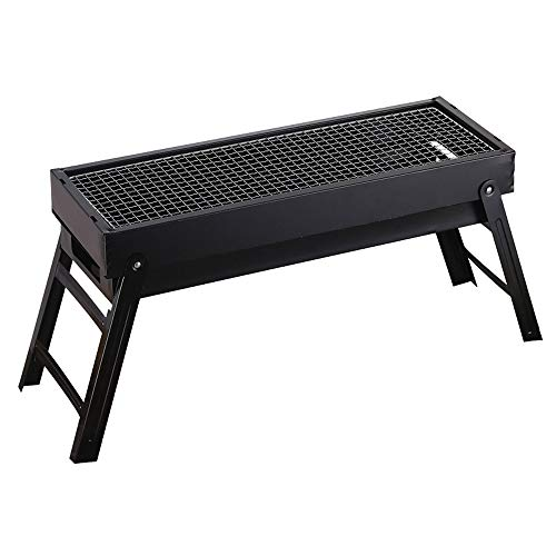 Großer Grill Grill Tragbare Holzkohle Camping Camping Picknickbrenner Holzkohle Camping Grillofen