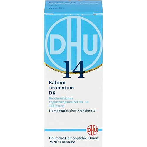 DHU Schüßler-Salz Nr. 14 Kalium bromatum D6 Tabletten, 80 St. Tabletten