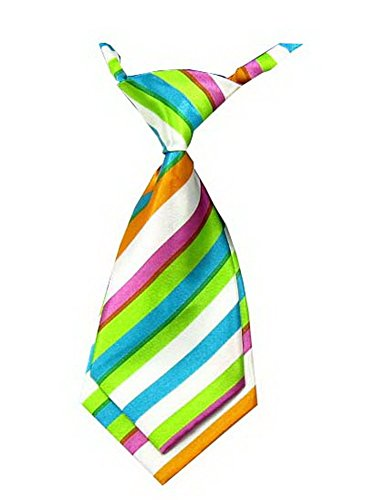 Unique bébé cravate réglable cravate Parti Wedding Show cravate Garçon [Arc en c