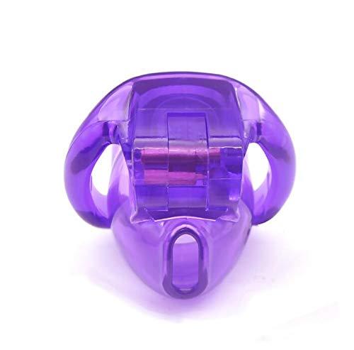 FEIPO5 Dispositivo Protector romántico de Resina Natural Violeta para Hombres (45 mm / 48 mm / 51 mm / 58 mm). B6
