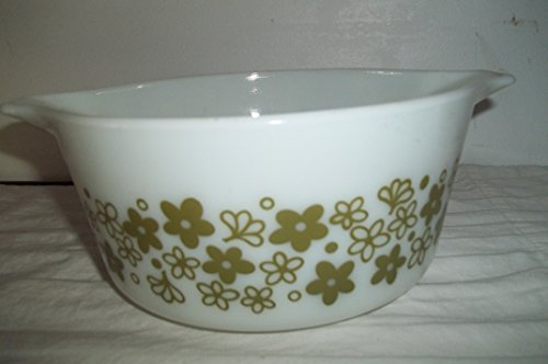 Pyrex 474-b Casserole/storage/baking Dish Spring Blossom