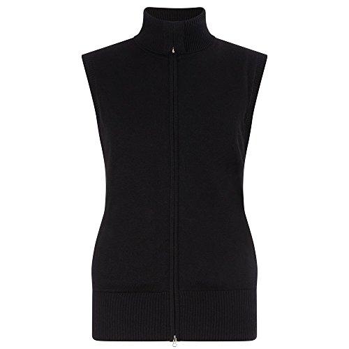 Callaway Golf Full Zip Mock Neck vest, dames