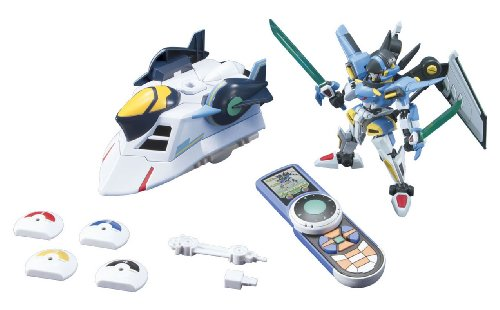 Little Battlers eXperience W - LBX Icarus Force & RS (Plastic model)