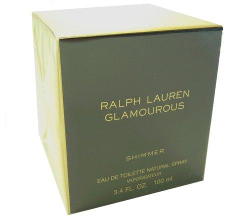 RALPH LAUREN Glamourous Shimmer/ralph Lauren Edt Spray Shimmer 3.4 Oz (w) 3.4 Oz Edt Spray 3.4 OZ