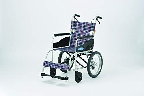 車椅子アルミ介助型NEO-2 日進医療器(sa14Q30855)【台】