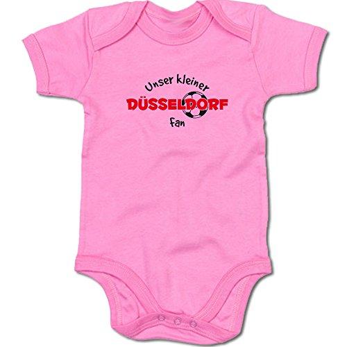 G-graphics Unser Kleiner Düsseldorf Fan Baby-Body Suite Strampler 250.0496 (0-3 Monate, pink)