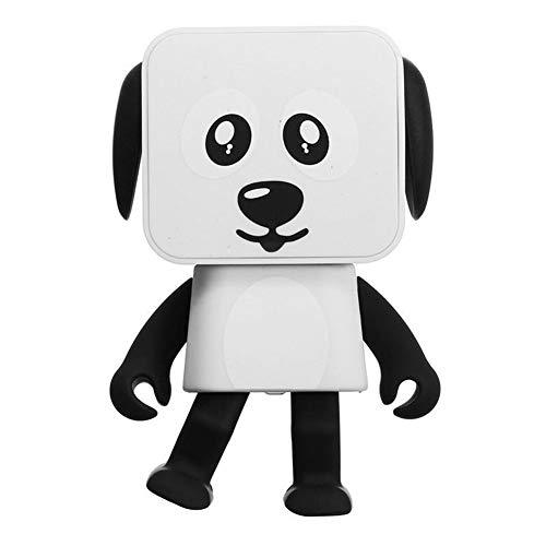 Simple y Conveniente, de Alta definición de Sonido Quali Regalos del Altavoz de los niños Juguetes Música Robot Perro Altavoz portátil inalámbrico Bluetooth Danding Multifuncional