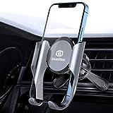 Supporto per cellulare da auto per auto con funzione di memoria, universale, compatibile con iPhone 12/12Pro/11/11Pro/XS MAX/XS/XR/X/8, Samsung, Huawei, Sony, Xiaomi LG ecc.
