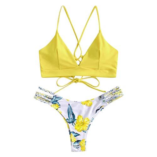 RODMA Damen Bikini Oberteil P614W