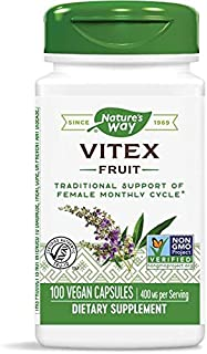 Schwabe Nature'S Way Vitex Chaste Tree, 400 Mg, 3 Pack Of 100 Count