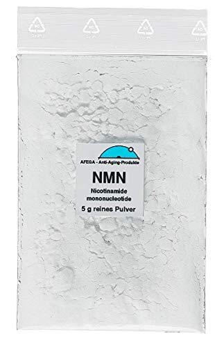 NMN Nicotinamide Mononucleotide/Nicotinamid Mononukleotid (5 g reines Pulver zum Testen der Verträglichkeit)