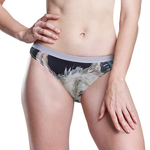 SLHFPX Llama Music Women's Menstrual Sanitary Protective Panties Underwear