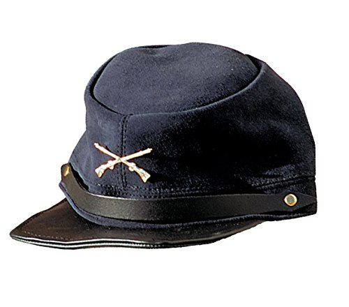 Cap Ledercap Ledermütze Schildmütze Südstaaten Nordstaaten Old Style blau