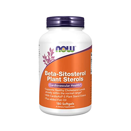 Beta-Sitosterol Plant Sterol Softgels Now Foods 180 Softgel