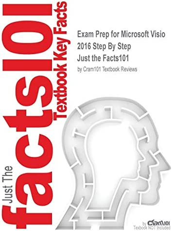 Exam Prep for Microsoft Visio 2016 Step By Step Just the Facts101 product image