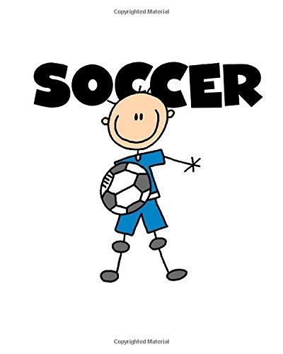 Soccer Is My Sport 2019 Daily Planner: Stick Figure Male Soccer Player Soccer Sports 2019 Daily Weekly Monthly Planner Calendar