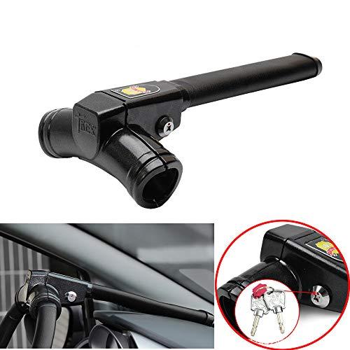 Fei Anti-Theft Car Steering Wheel Lock Premium Quality Strong Durable Wheel Lock Cylinder Key Heavy...
